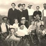 La Famiglia Bruno negli anni 40